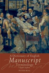 A Dictionary of English Manuscript Terminology 1450–2000