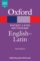Pocket Oxford Latin Dictionary: English-Latin