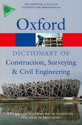 A Dictionary of Construction, Surveying and Civil Engineering