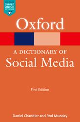 A Dictionary of Social Media