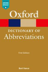 A Dictionary of Abbreviations