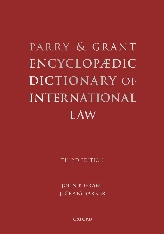Encyclopaedic Dictionary of International Law